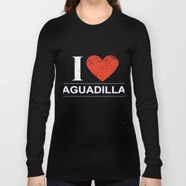 I Love Aguadilla Long Sleeve T-shirt