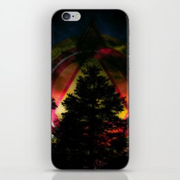 The Emblem of Earth iPhone Skin