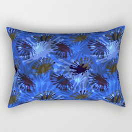 Ocean View Fireworks Rectangular Pillow