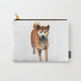 watercolor dog vol 8 shiba inu Carry-All Pouch