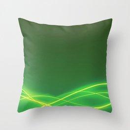 Ecclectic Waves Throw Pillow