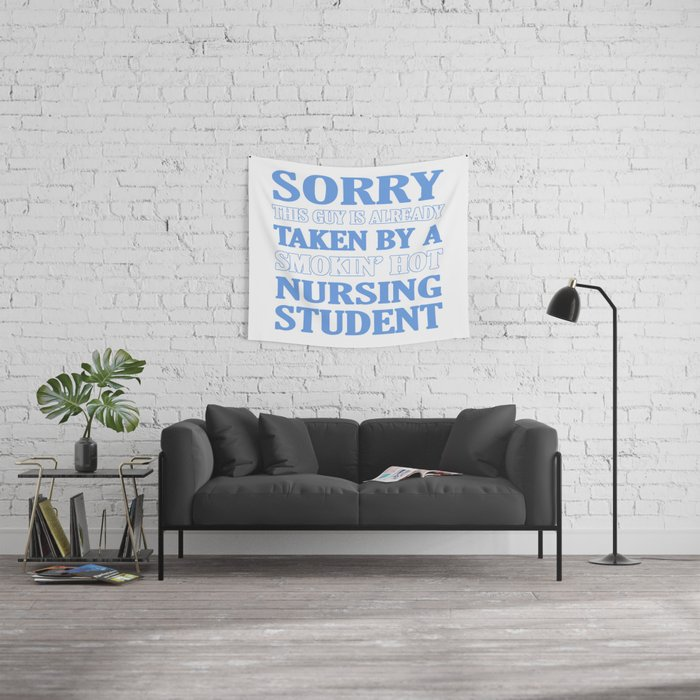 Taken By Nursing Student Wall Tapestry