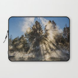 An Explosion of Sunlight Left Me Awestruck! Laptop Sleeve