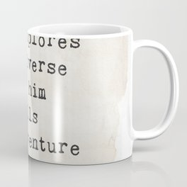 Edwin Hubble quote Coffee Mug