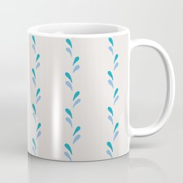 Bouncing Water Droplets - White Coffee Mug
