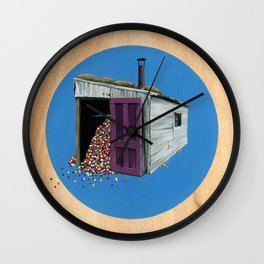 Sheds & Shacks | No:2 Wall Clock