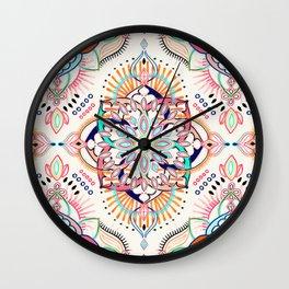 Summer Festival Pop Wall Clock