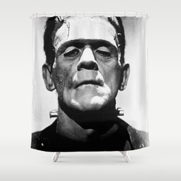 Frankenstien | Franky | Horror movies | Munsters | Gothic Aesthetics Shower Curtain