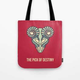 the pick of destiny Tote Bag