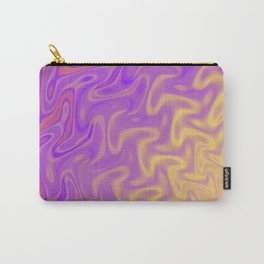 Ripples Fractal in Tropical Punch Carry-All Pouch