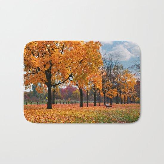 Autumn trees 47 Bath Mat