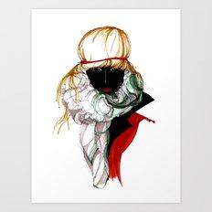 BLACK SPIRITED Art Print