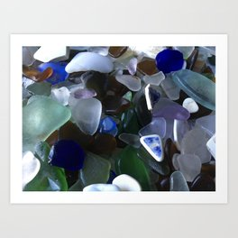 Sea Glass Assortment 4 Art Print
