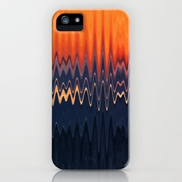 Sunset in Waves iPhone Case