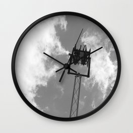 Midway ride Wall Clock