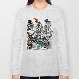 Calavera Cyclists Long Sleeve T-shirt