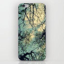 look up. iPhone Skin
