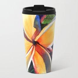Kauai Rainbow Plumeria Travel Mug
