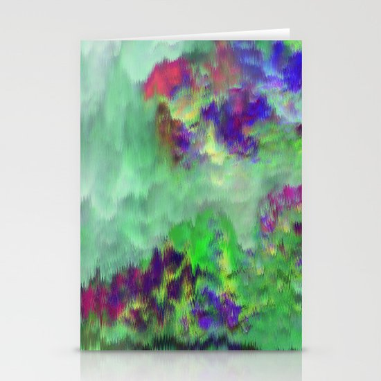 Jade Storm Stationery Cards