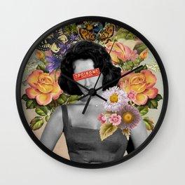 Public Figures - Liz Taylor Wall Clock