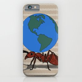 Mighty Ant iPhone Case