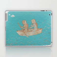 Girls Rowboat Laptop & iPad Skin