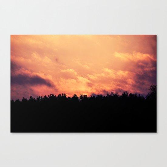 As The Dawn Breaks Canvas Print