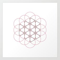 #538 Generator – Geometry Daily Art Print