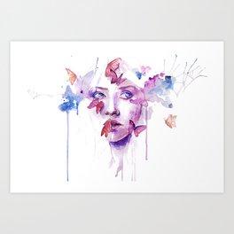 TEARS BEAUTIFY Art Print