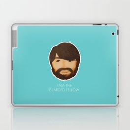 I Am The Bearded Fellow Laptop & iPad Skin