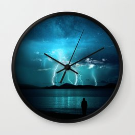 Storms Coming... Wall Clock