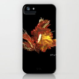 Fire & Flames iPhone Case