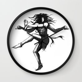 Shiva as Nataraja Wall Clock