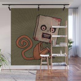 Psycho Sack Monkey Wall Mural