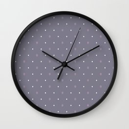 Brightind diamond (purple background) Wall Clock