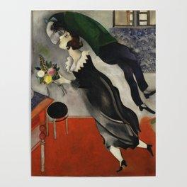 Marc Chagall, The Birthday 1915 Artwork, Posters Tshirts Prints Bags Men Women Kids Poster