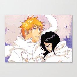 Bleach: Ichigo X Rukia Canvas Print