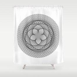 Venus Flower Shower Curtain
