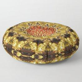 mosaico de flor Floor Pillow