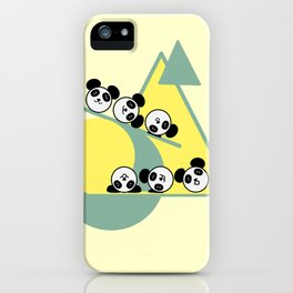 Panda-fun iPhone Case