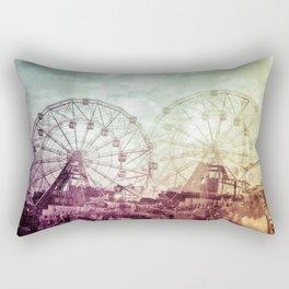 double ferris wheel Rectangular Pillow
