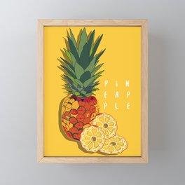 Pineapple Framed Mini Art Print