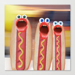 Weenie People Canvas Print