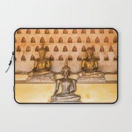 Wat Si Saket Buddhas II, Vientiane, Laos Laptop Sleeve