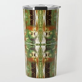 Out there in the woods, I feel peace........ Travel Mug
