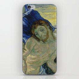 Pietà (after Delacroix) iPhone Skin