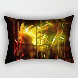 Sexy Cage Dancer Rectangular Pillow