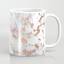 Marble Texture with Copper Splatter 041 Coffee Mug