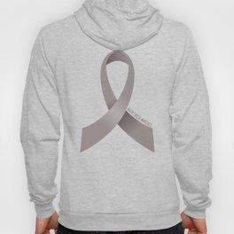 Brain Cancer Awareness Ribbon Hoody