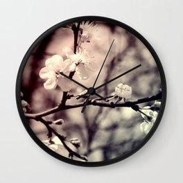Tree Blossom Wall Clock